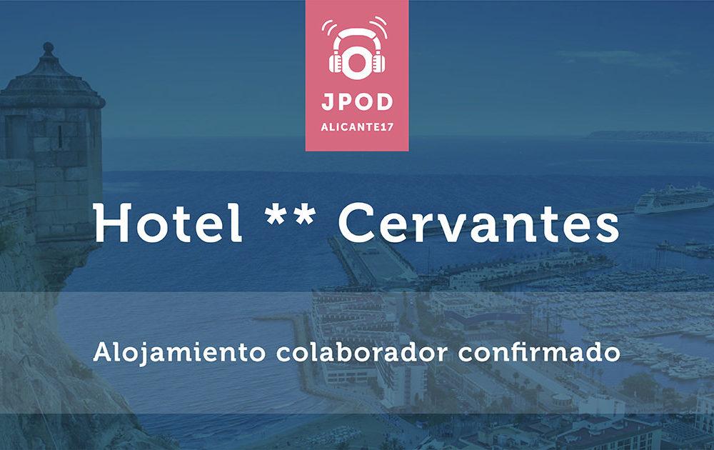 Hotel Cervantes se une a las JPOD y ofrece descuento a los asistentes