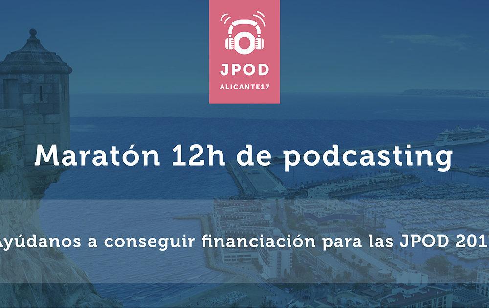 Anunciamos el Maratón de Podcasting durante el Sábado 1 de Julio