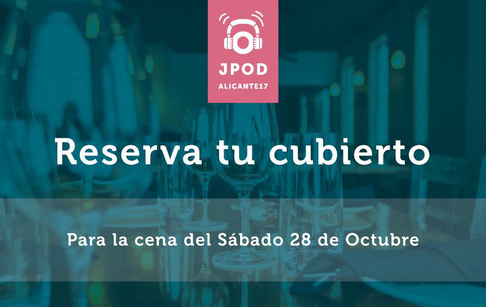 Reserva plaza cena del Sábado 28 en La Andaluza