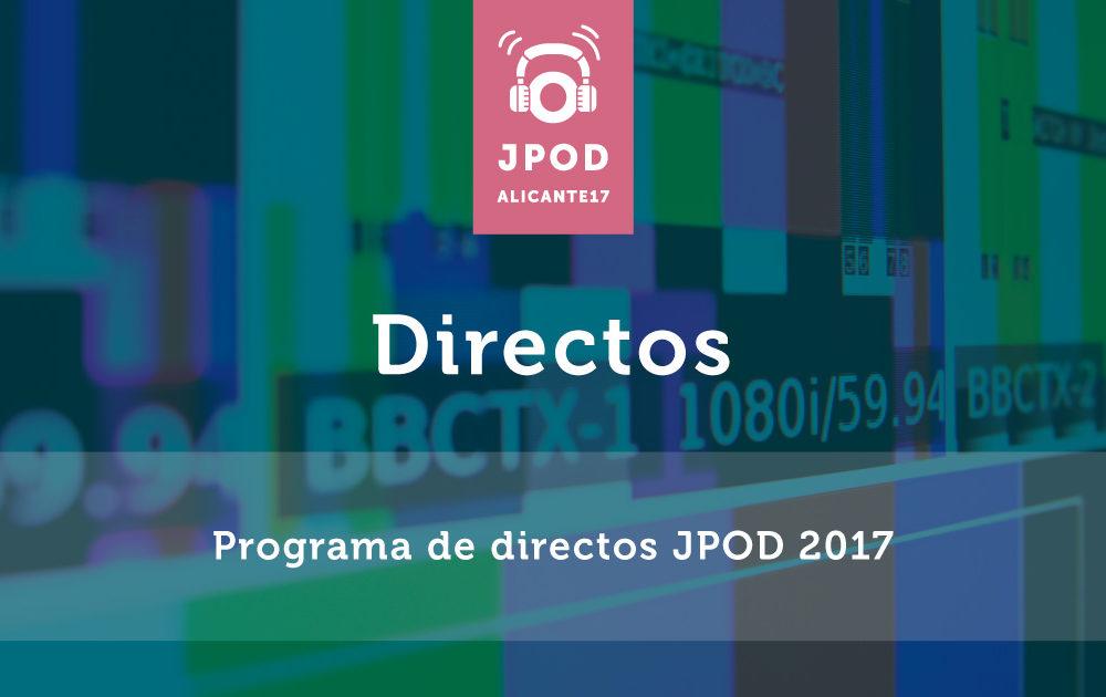 Directos JPOD 2017