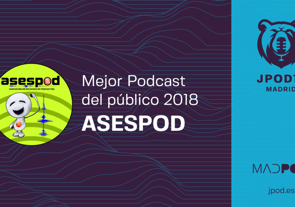 Últimos días para nominar al Mejor podcast del público entregado por Asespod
