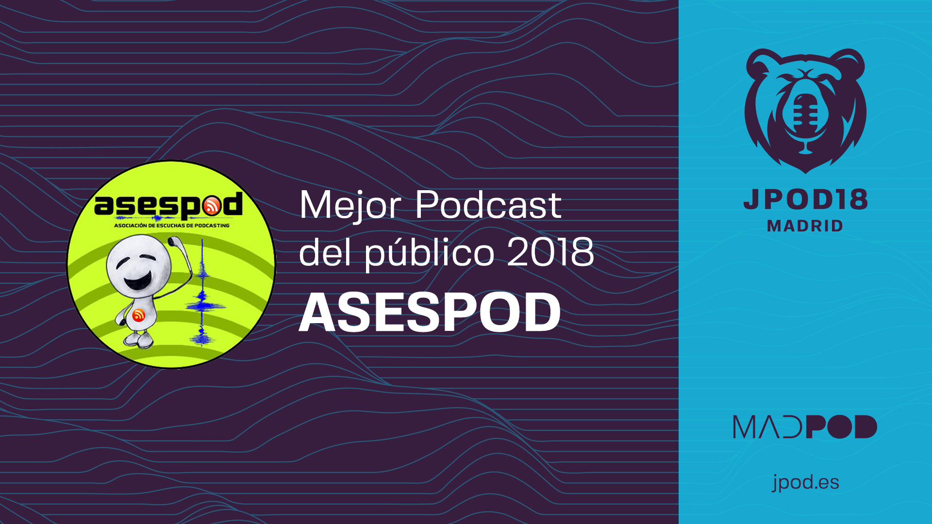 Mejor podcast del público 2018