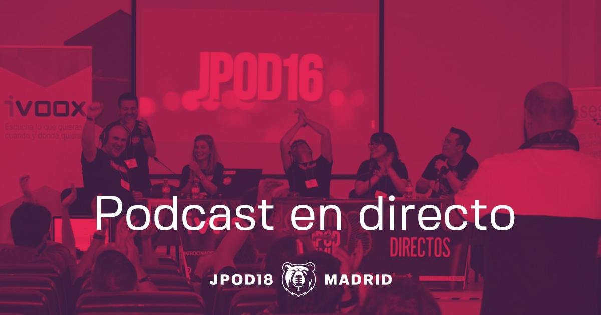 Podcast en directo