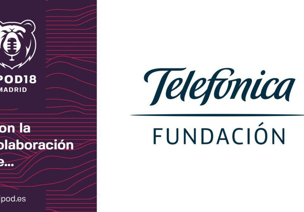 La Fundación Telefónica se convierte en el principal colaborador de las JPOD18Madrid