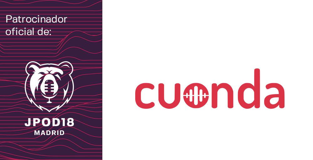 Cuonda se convierte en patrocinador de las JPOD18 Madrid