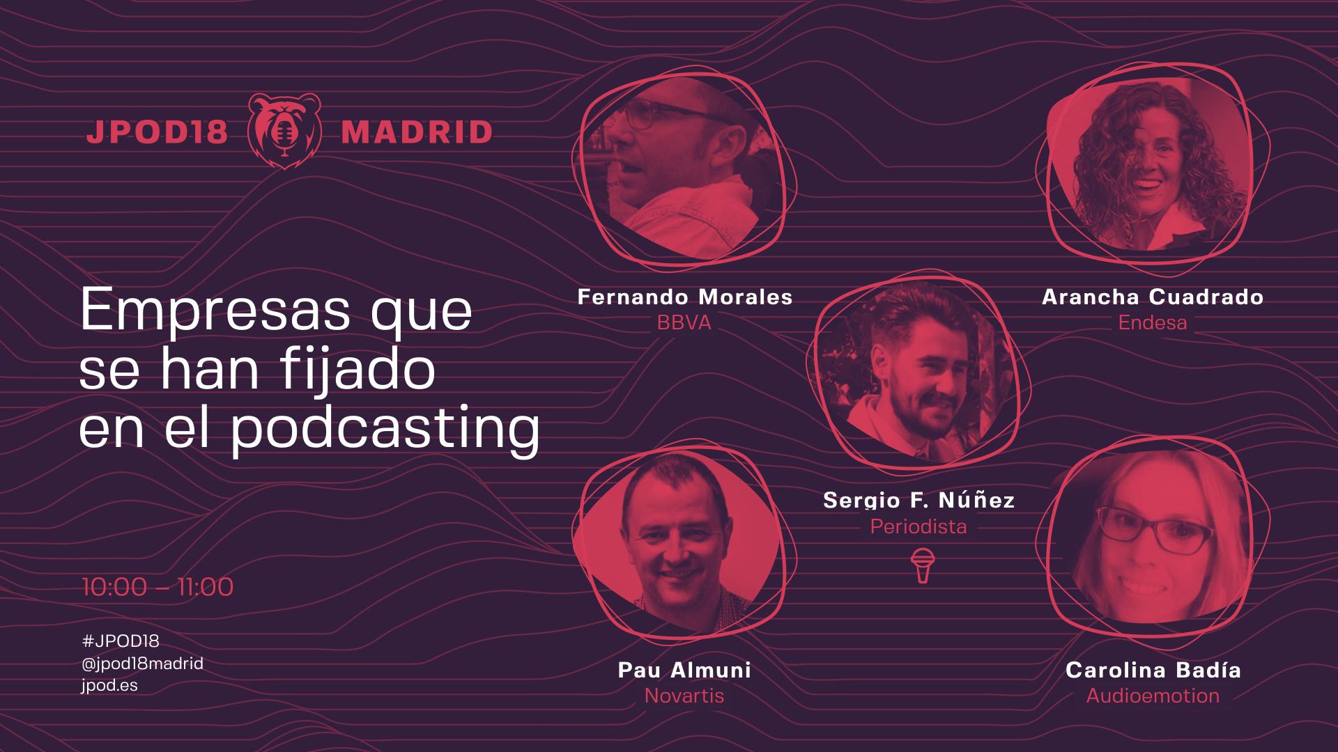 Empresas que se han fijado en el podcasting