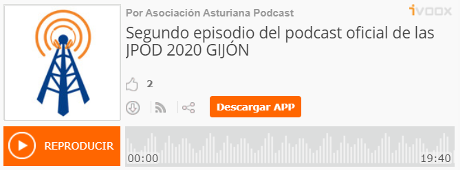 Segundo podcasts jpod20